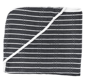 House of Jude Hooded Baby Turkish Towel Raven