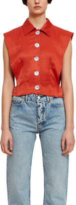Opening Ceremony Tie Back Shell Blouse