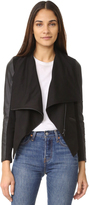 David Lerner Asymmetrical Draped Jacket