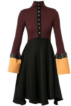 Ellery Concourse colour-block dress