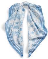 Ralph Lauren Alexa Floral Silk Scarf