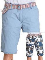 Jet Lag reversible camo cargo shorts