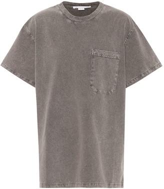Stella McCartney Cotton dropped-shoulder T-shirt