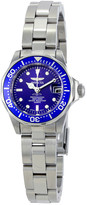 Invicta Mako Pro Diver Blue Dial Stainless Steel Ladies Watch