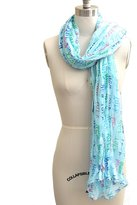 Scarf Traditional New York New York Viscose Scarf Color