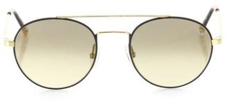 Etnia Barcelona Vintage Born Sun 50MM Double-Bridged Round Sunglasses