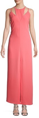 BCBGMAXAZRIA Cut-Out Maxi Dress