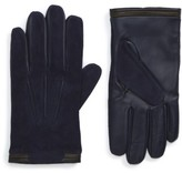 Ted Baker Men's Buzzcut Suede Gloves