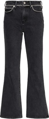 Simon Miller Cropped Kick Flare Jeans