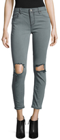 Free People Denim Distressed Skinny Jean