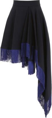 Calvin Klein Fringed Skirt