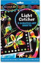 Melissa & Doug Scratch Art Scratch Art Scratch Magic Scratch Lite Stained Glass