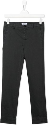 Dondup Kids TEEN slim fit chino trousers