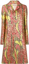 Marni floral trench coat