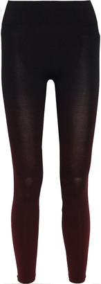 Pepper & Mayne Goddess Degrade Stretch-jersey Leggings