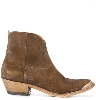 Golden Goose Crosby Western ankle boots