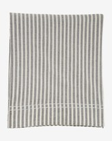 Toast Organic Ticking Stripe Flat Sheet