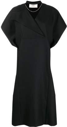 Ports 1961 lapel neck shift dress