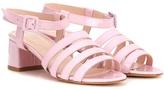 Maryam Nassir Zadeh Palma Patent Leather Sandals