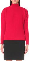 Thierry Mugler Pierced cashmere-blend jumper