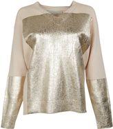 Stella McCartney Pale Pink And Gold Knitwear