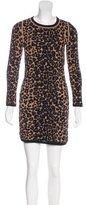 A.L.C. Leopard Knit Dress