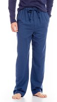 Roundtree & Yorke Plaid Flannel Pajama Pants