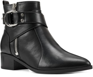 Nine West Dahila Women's Leather Ankle Boots