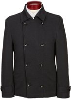 Murano Slim-Fit Double Breasted Knit Blazer
