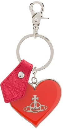 Vivienne Westwood Branded Heart Keyring