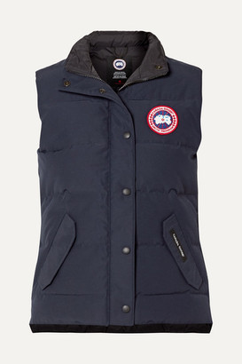 Canada Goose Freestyle Quilted Shell Down Vest - Navy