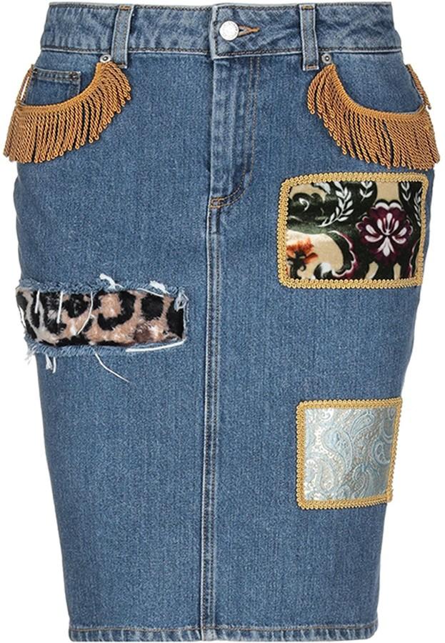 Thumbnail for your product : Jeremy Scott Denim skirts