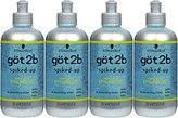 Got2b Spiked-Up Max Control Styling Gel, 8.5 Ounce (Pack of 4)