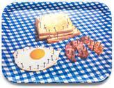 Seletti Toiletpaper Melamine Tray - Breakfast