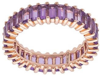 Dana Rebecca Designs Amethyst Eternity Ring