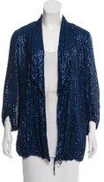Diane von Furstenberg Silk Sequin Jacket