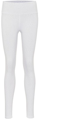Alo Yoga Vapor leopard-print high-rise leggings