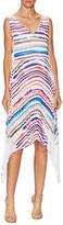 Emilio Pucci Striped Flared Dress
