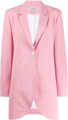 Loewe Single-Breasted Blazer