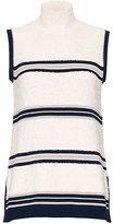 Derek Lam Combo Sleeveless Knit Top