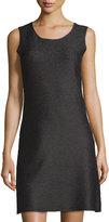 Berek Puzzle Color Sheath Dress, Black