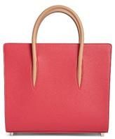 Christian Louboutin Medium Paloma Calfskin Leather Tote - Pink
