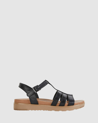 Easy Steps - Women's Black Sandals - Ohio - Size One Size, 37 at The Iconic