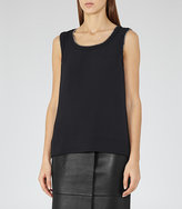 Reiss Inny Chain Detail Tank Top