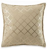 Bed Bath & Beyond Royal Heritage Home® Pelham Square Throw Pillow in Tan