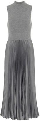 Polo Ralph Lauren Pleated midi dress