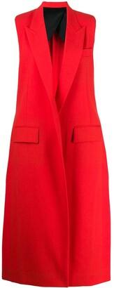 Ami Paris Longline Sleeveless Waistcoat