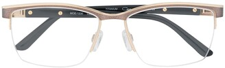 Cazal Rectangular Shaped Glasses