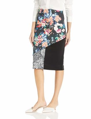 Nicole Miller Apparel Knee Length Pencil Skirt