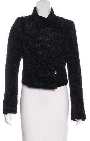 Ann Demeulemeester Velvet Structured Jacket w/ Tags